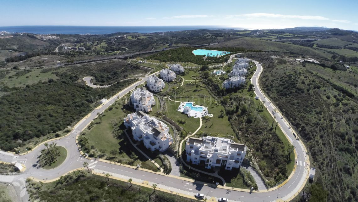 Alcazaba Lagoon. Alcazaba Lagoon, Casares, 2 and 3 bedroom brand new apartments for sale - Gallery