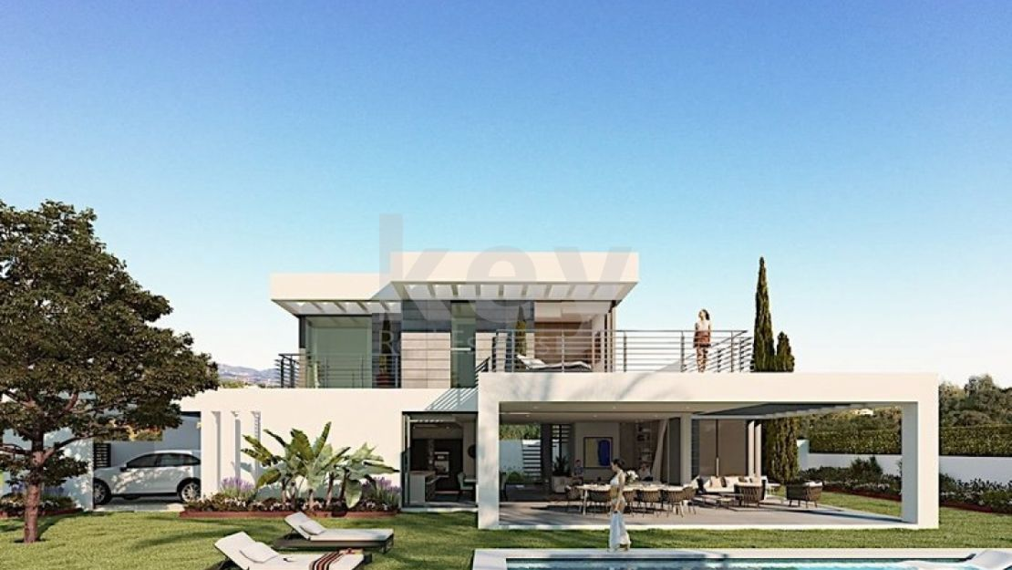 LUXURY MODERN VILLA IN NEW GOLDEN MILE WITH PANORAMIC SEA VIEWS
