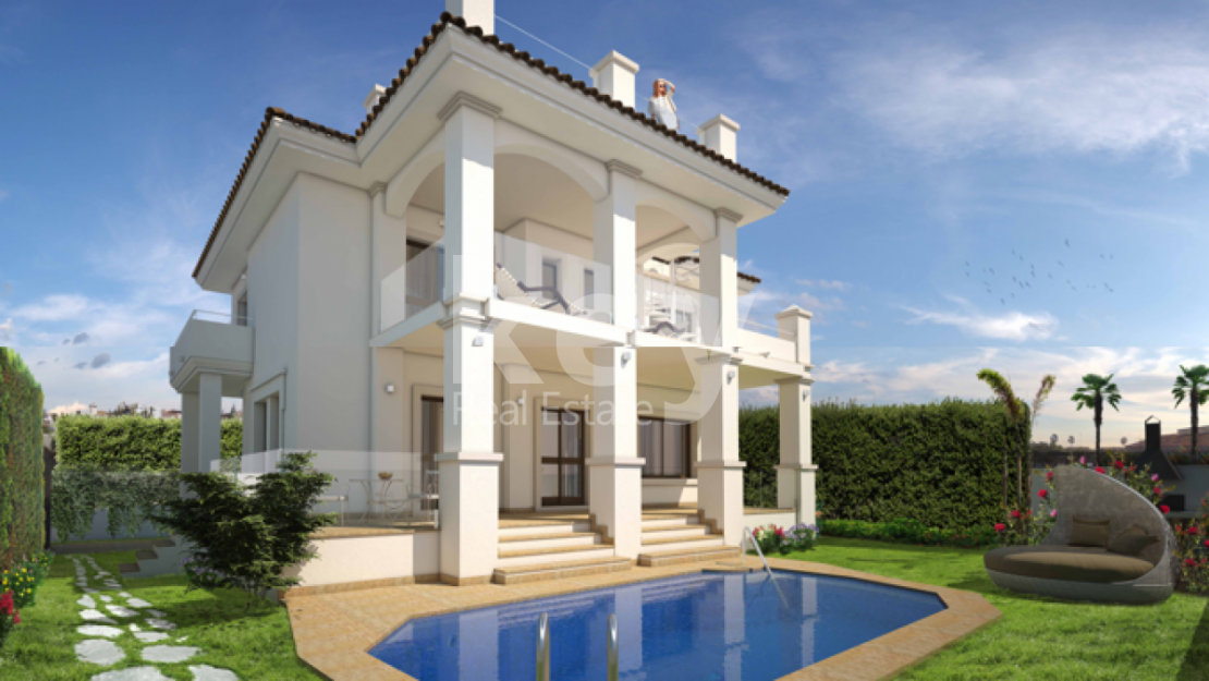 OPEN SEA VIEWS VILLA IN MARBELLA EAST