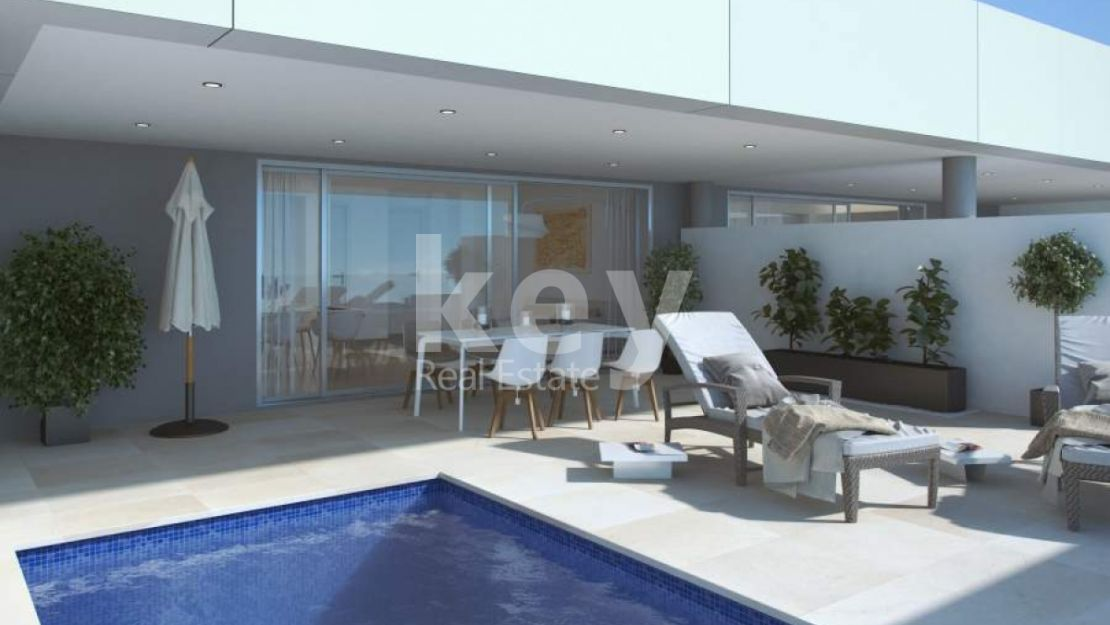 3 BEDROOMS MODERN APARTMENT WITH SEAVIEWS IN NUEVA ANDALUCIA
