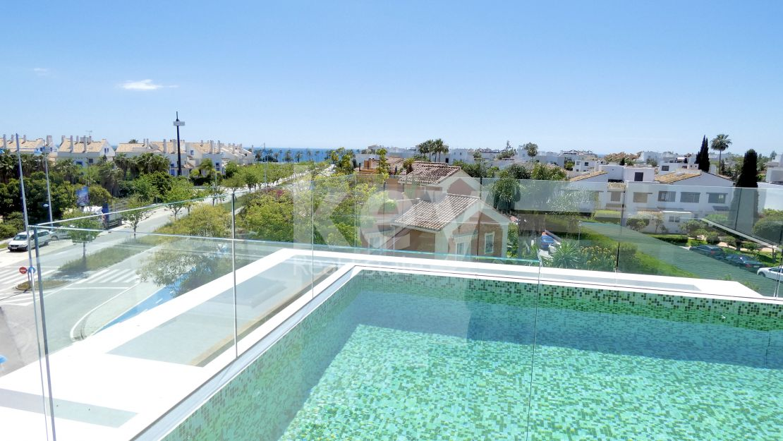 New beachside villa for sale in San Pedro, Costa del Sol