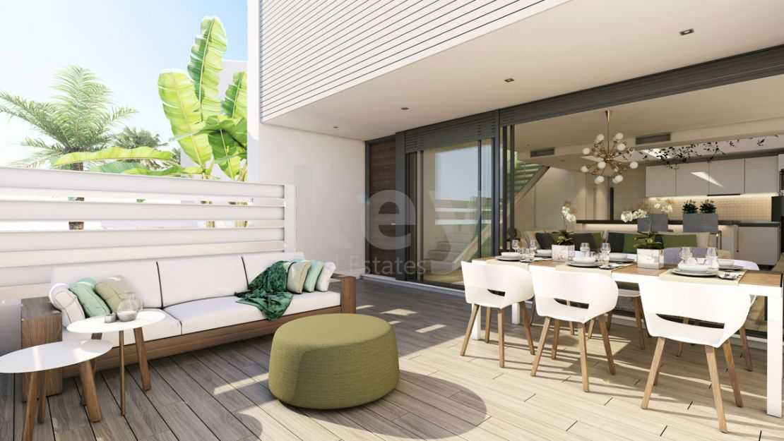 Brand new modern townhouse in Cancelada, Estepona
