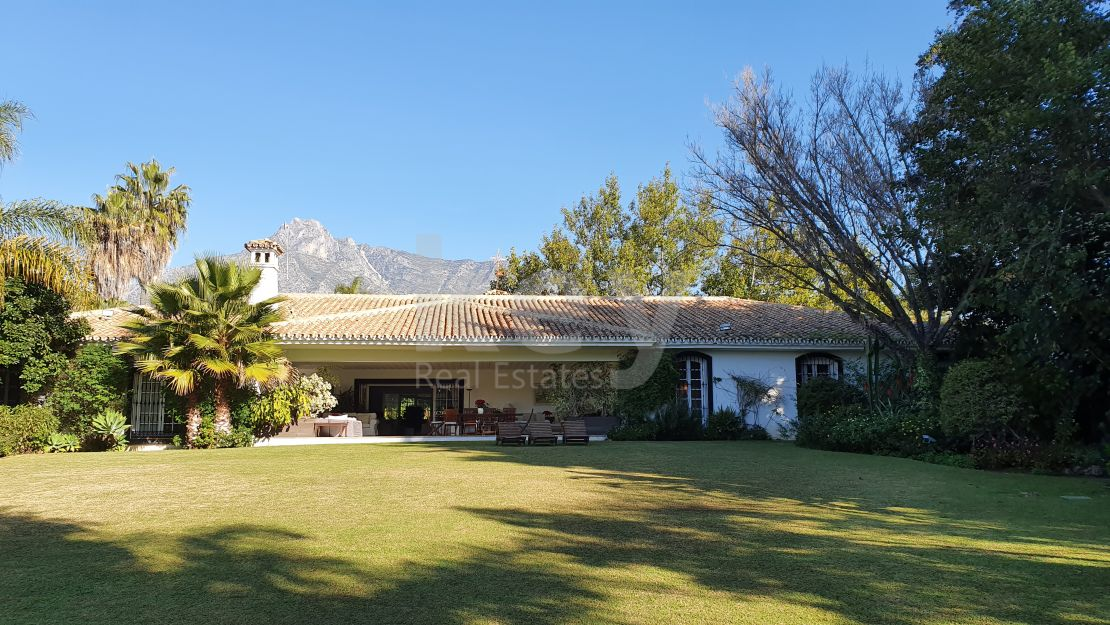 Villa Grace: a charming villa close to the beach in Golden Mile, Marbella
