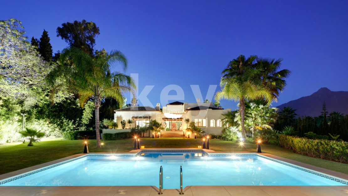 Villa Buddha: marvelous villa close to the beach and Puerto Banus