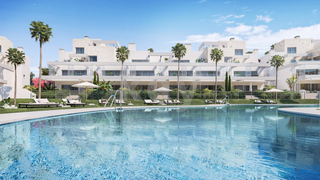 Stunning contemporary penthouse close to the beach and town, Estepona