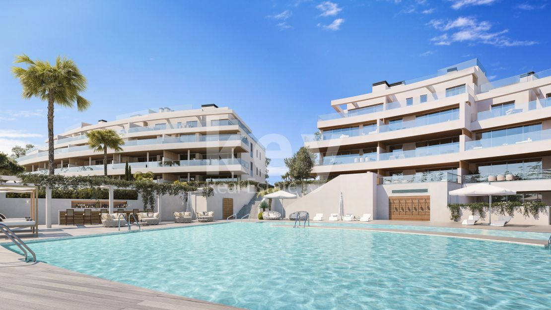 Ground floor apartment for sale with private pool in La Cala de Mijas