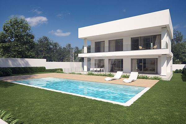 Contemporary villas for sale close to the beach in Puerto Banus