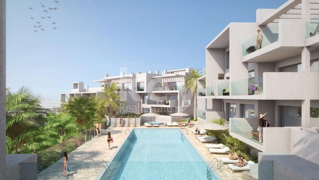 New modern apartments for sale in Estepona