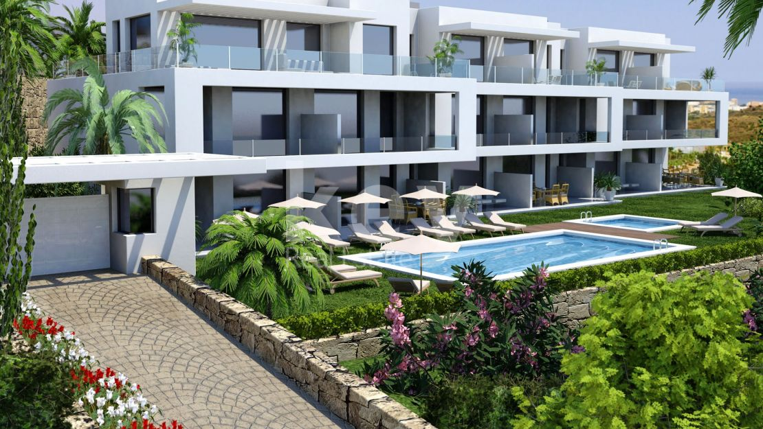 Sea view apartments in Mijas Costa