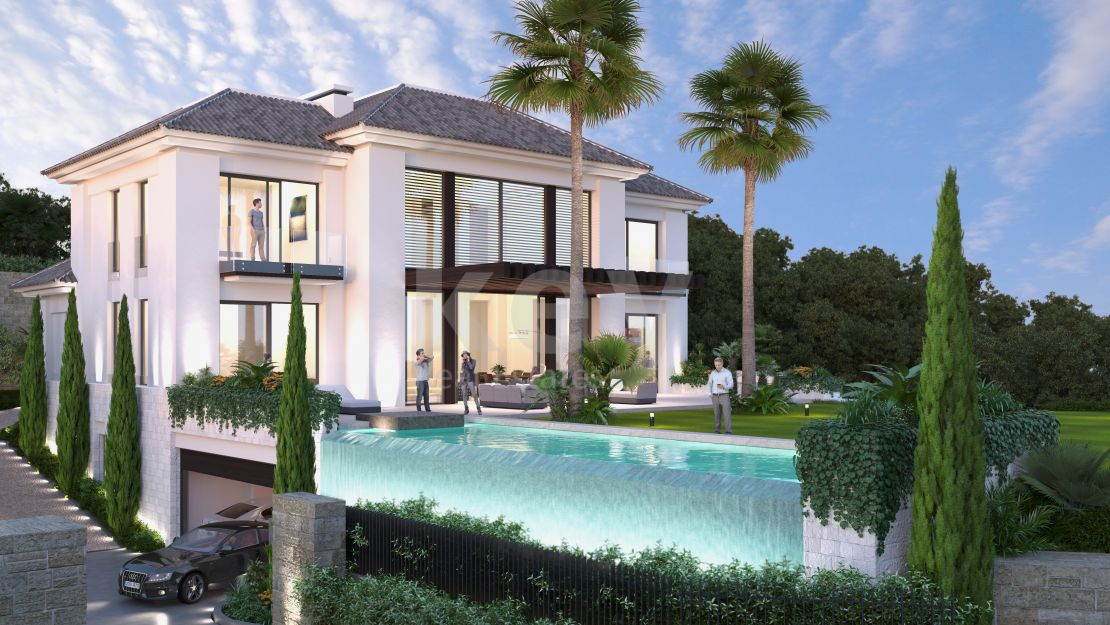 NEW BUILT VILLA IN CAPANES CLOSE TO ATALAYA GOLF, Benahavis