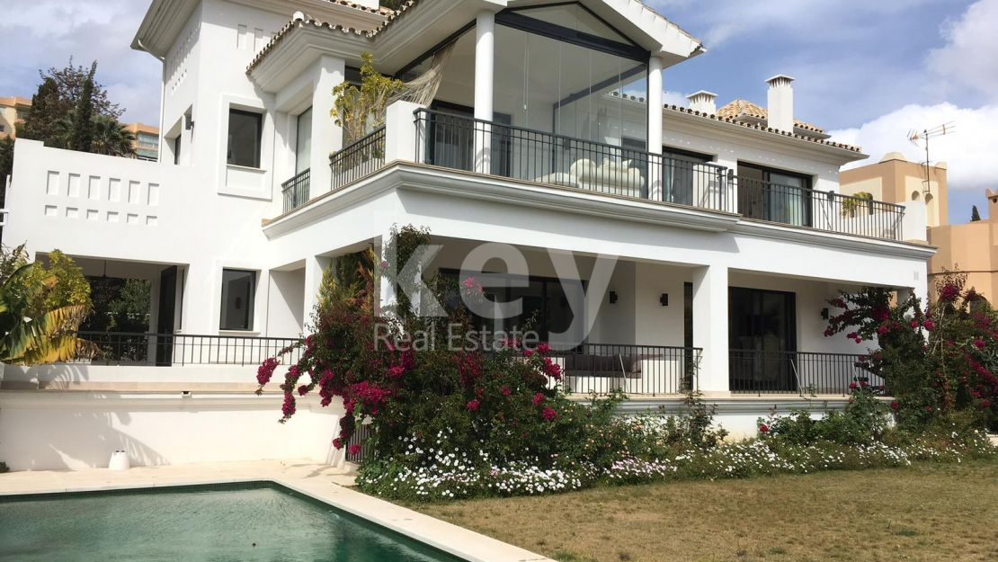 NEW MODERN VILLA CLOSE TO PUERTO BANUS EN NUEVA ANDALUCIA