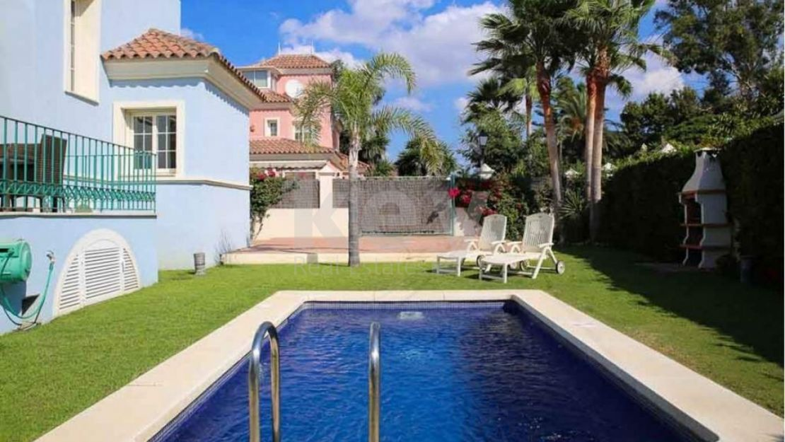 Villa in Puerto Banus just 100 meters from the beach