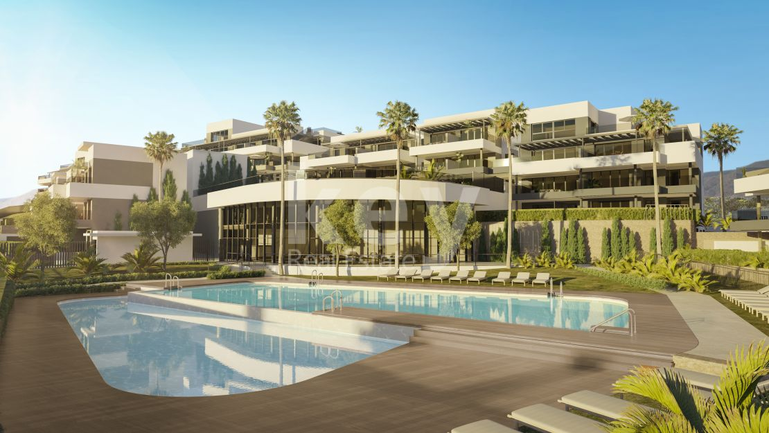 Modern sea views apartments in prime location, Estepona