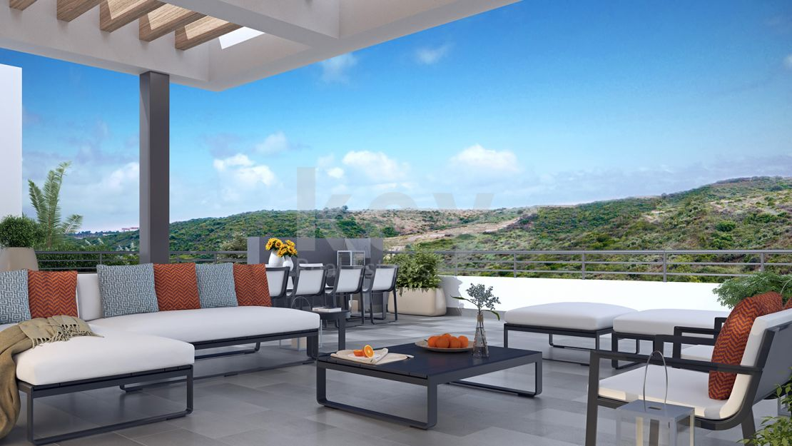 Frontline golf exclusive apartments and penthouse  in Casares
