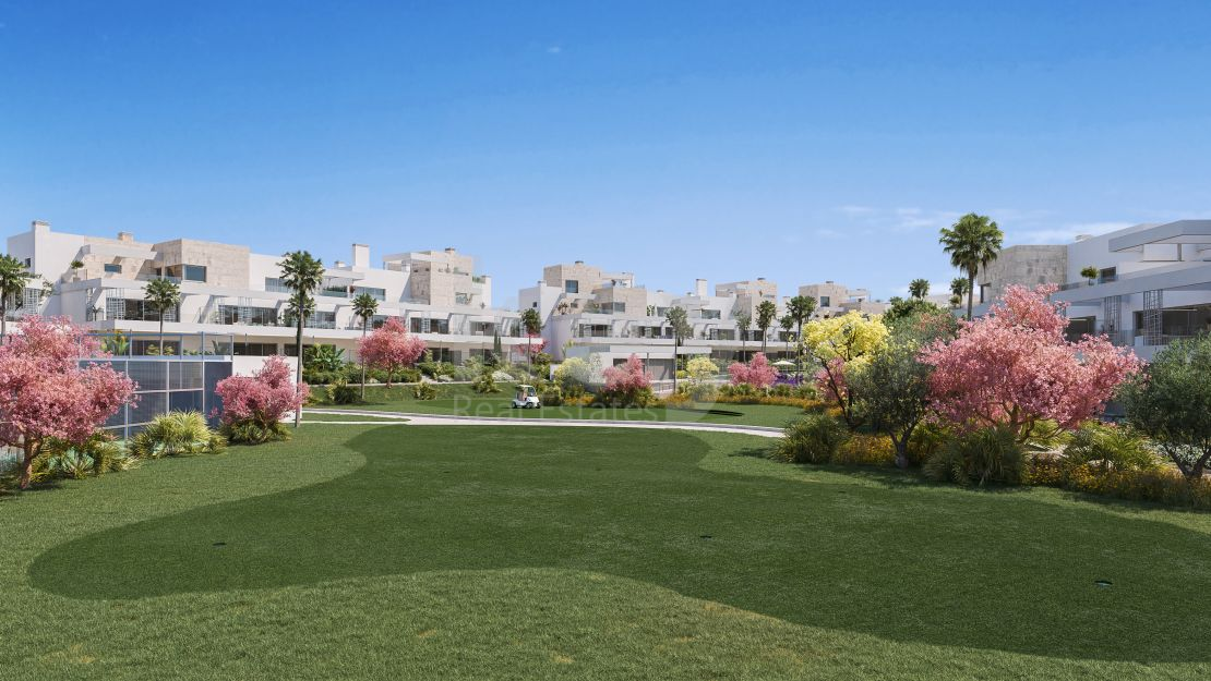 Brand new modern apartments in gated community, Estepona