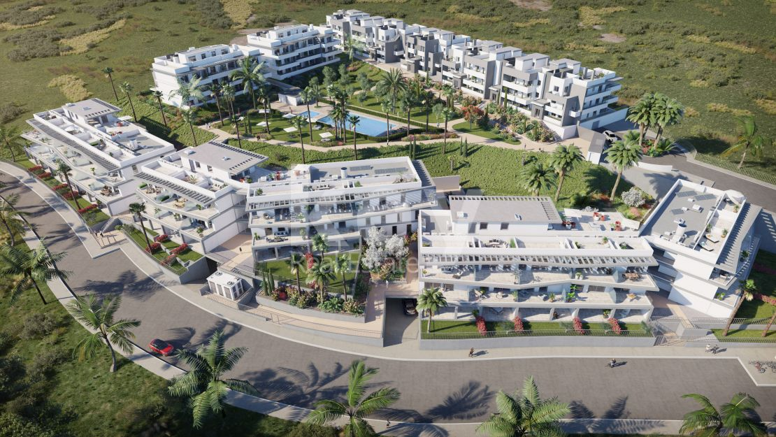 Sea and mountain views apartments for sale in Casares