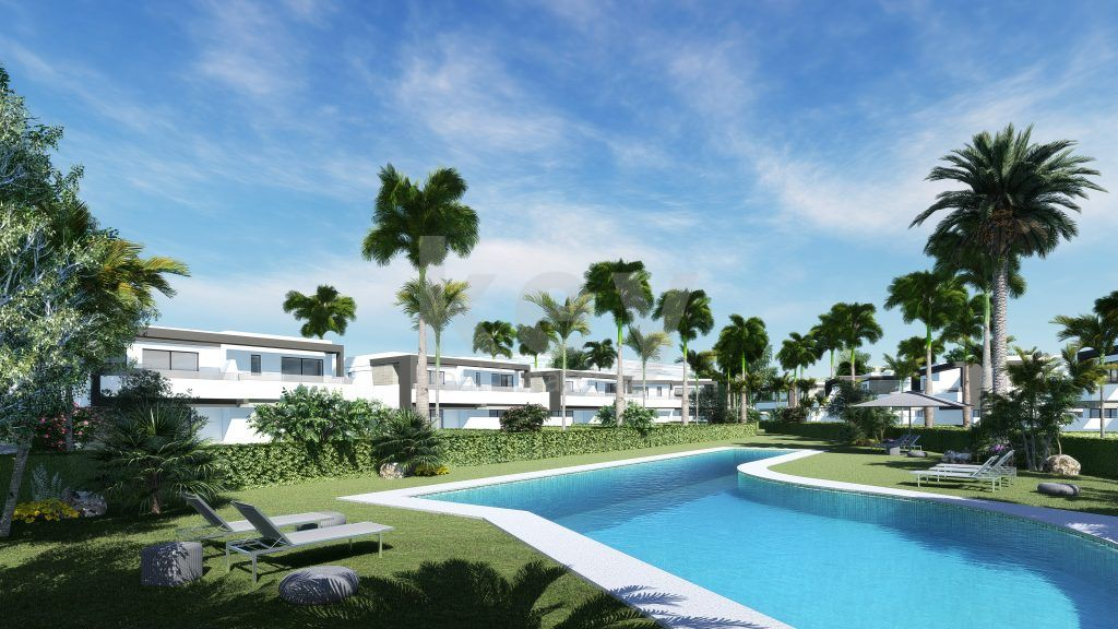 New luxury townhouses for sale in New Golden Mile, Estepona