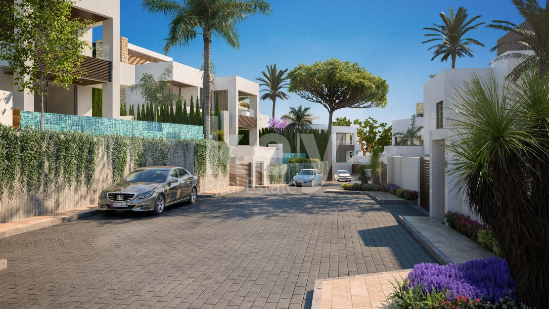 Unique villas in gated community, Golden Mile, Marbella