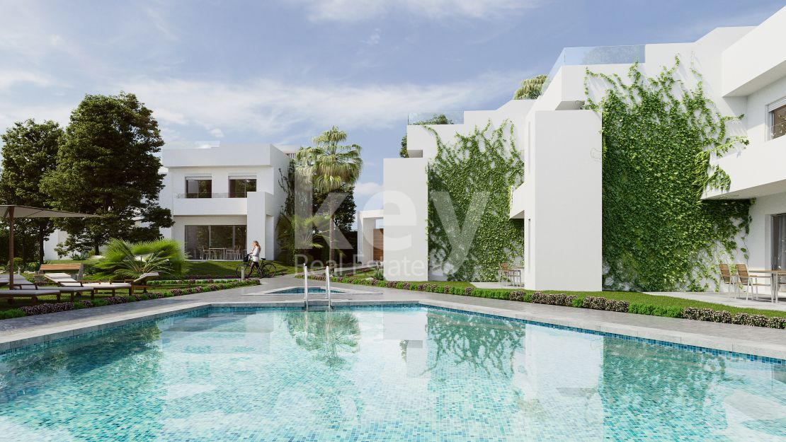 Beautiful brand new houses in Nueva Andalucia, Marbella