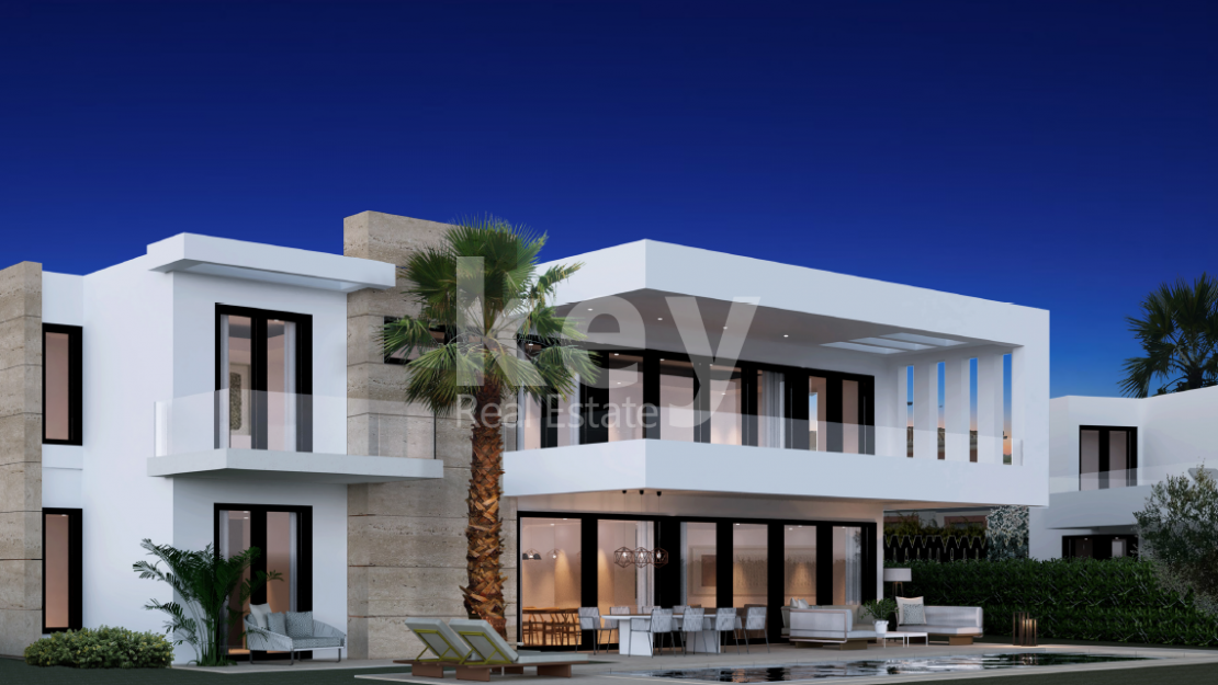 Brand new contemporary villas in El Paraiso, Estepona
