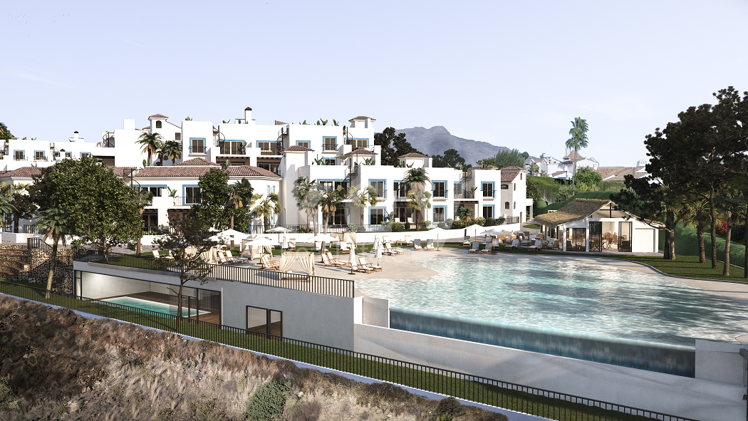 Brand new stylish apartments with sea views in Benahavis