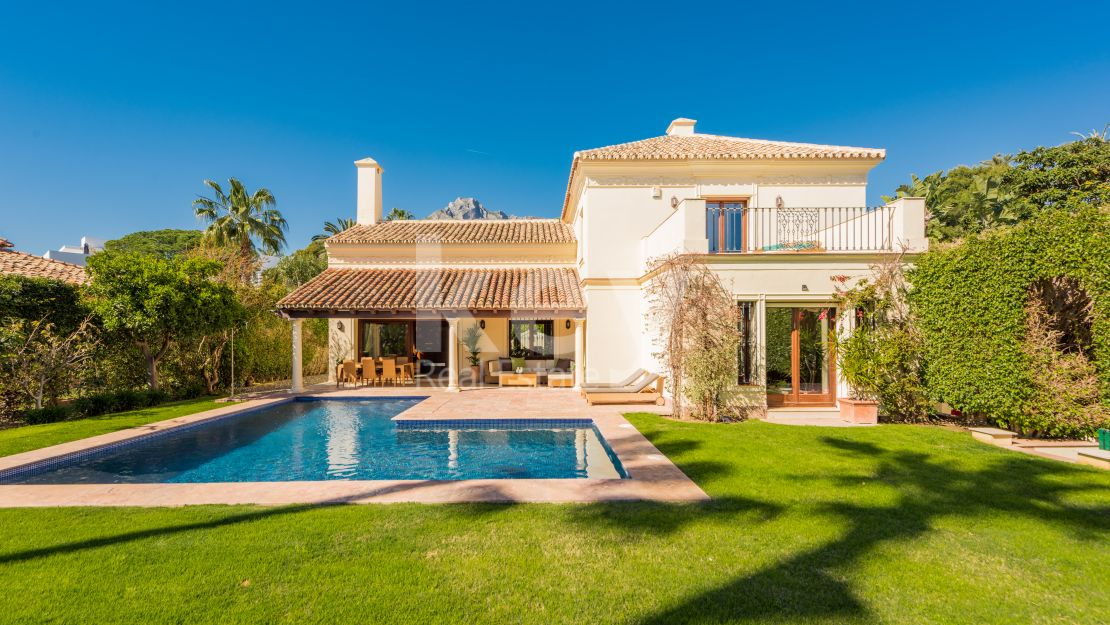Villa Katrin: Amazing villa for short rental in Marbella, Golden Mile