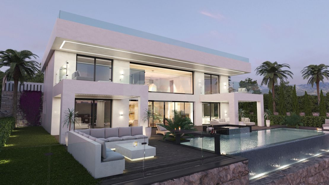 Unique and luxury villa in Nueva Atalaya, Estepona