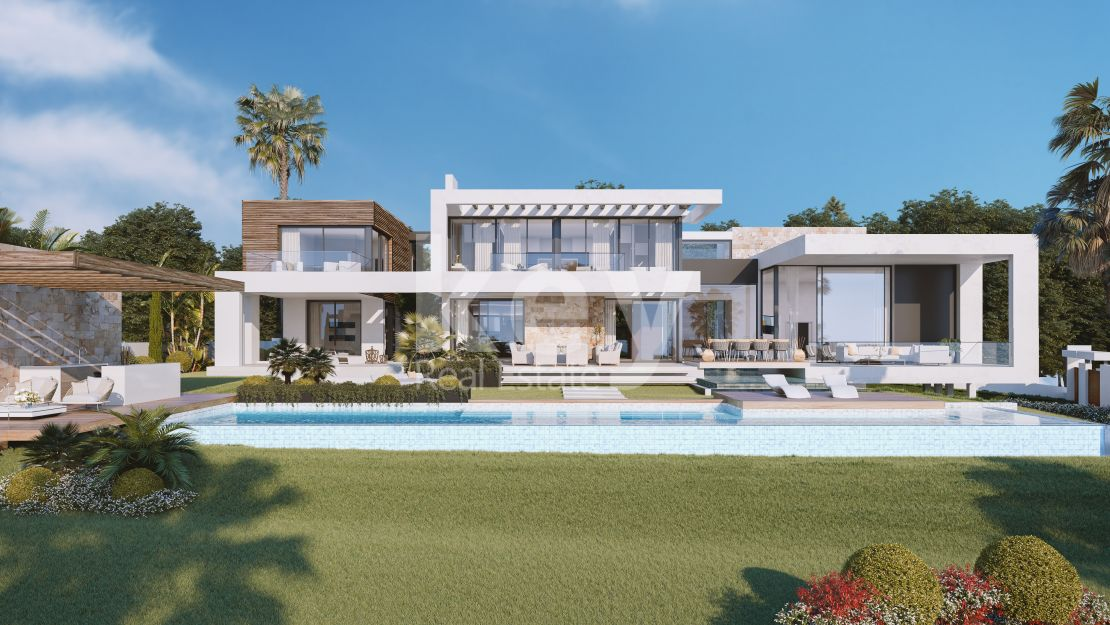 Spectacular Villa for sale with sea views in Sierra Blanca, Marbella