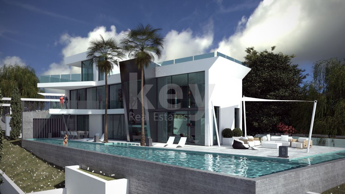 Modern Villa for sale in Los Flamingos, Benahavis