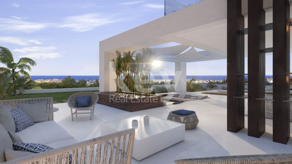 Exclusive modern villa for sale in Cancelada, Estepona
