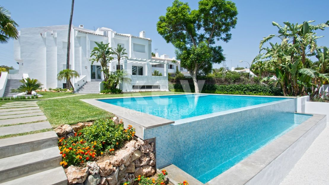 Newly reformed semi detached villa for sale in Nueva Andalucia, Marbella