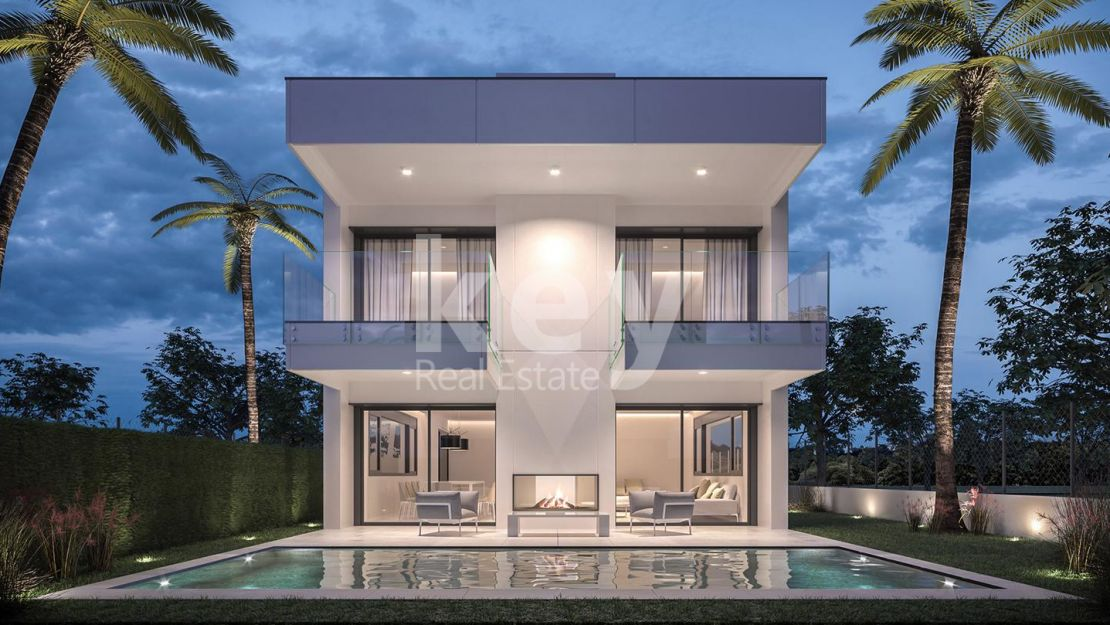 Modern villa for sale within walking distance to the beach, Puerto Banús