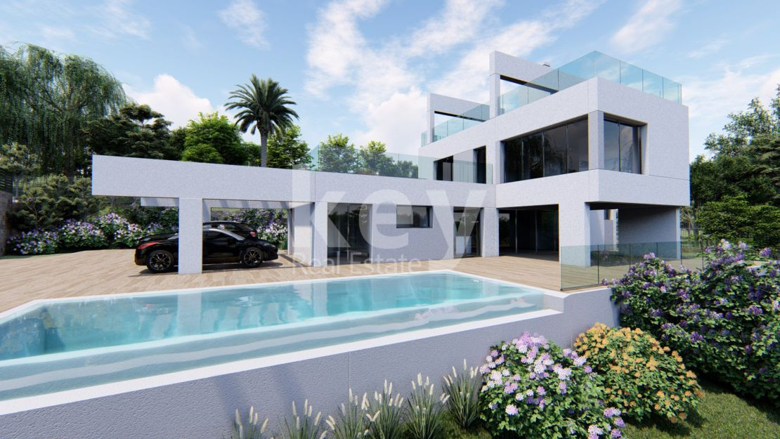 Brand new luxury villa for sale in Nueva Andalucia