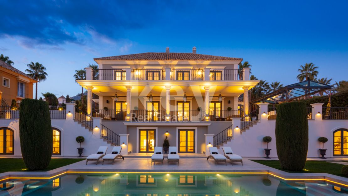 Incredible luxury villa for sale in Sierra Blanca, Marbella