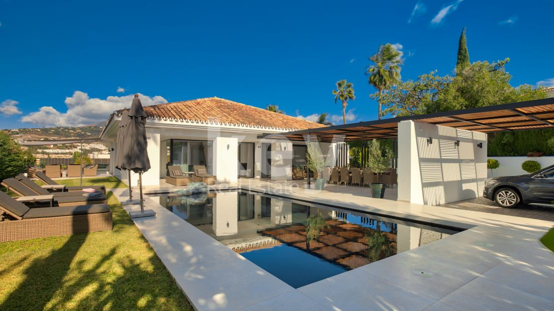 Villa Cannes: exceptional villa for holiday rentals in Nueva Andalucia