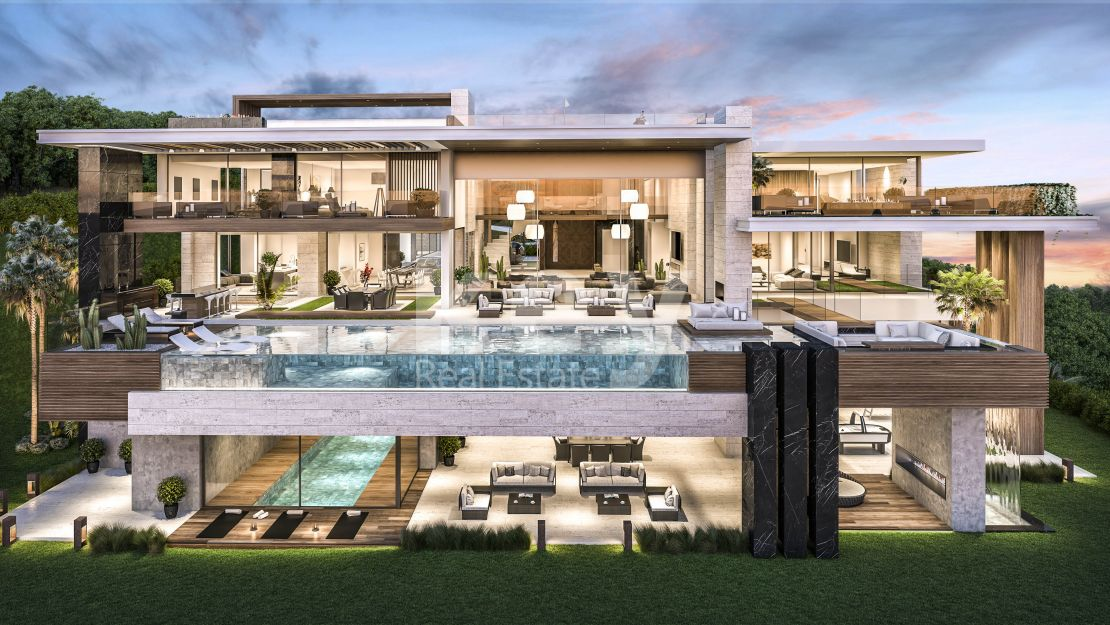 Ultra luxury and modern villa in La Zagaleta, Benahavis