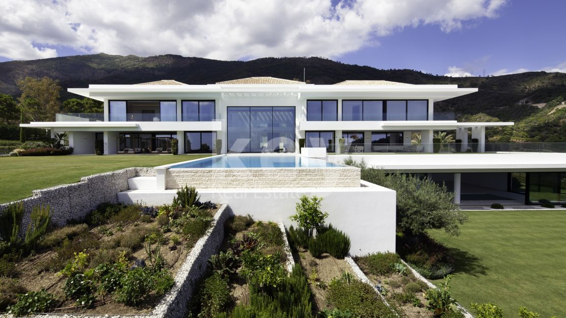 Contemporary luxury villa in La Zagaleta, Benahavis