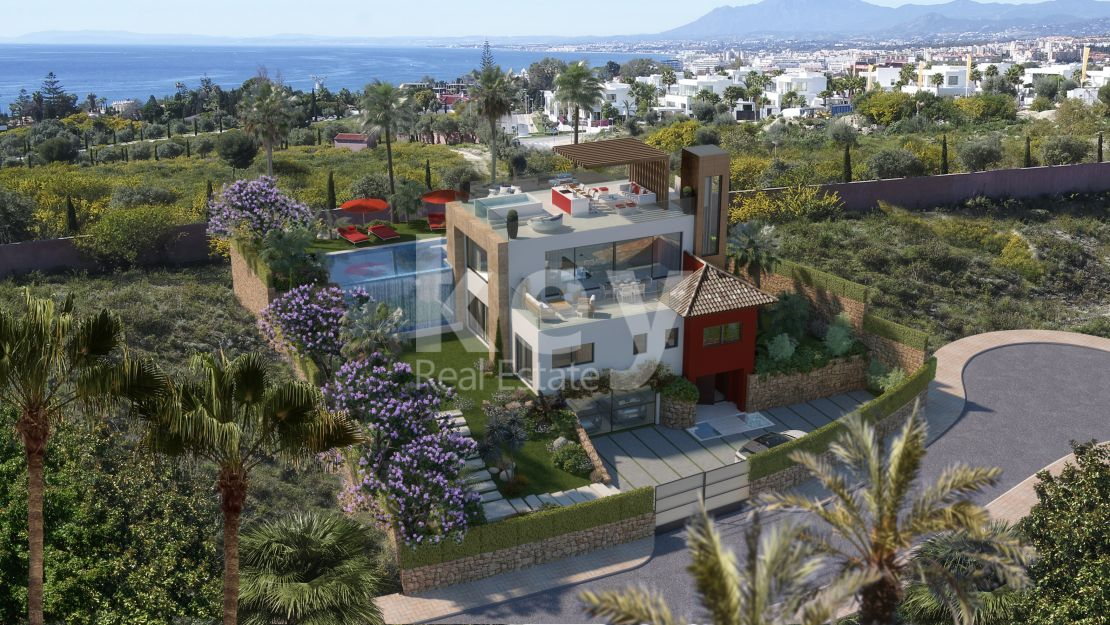 Luxury sea views villa for sale in Rio Real Golf, Marbella East