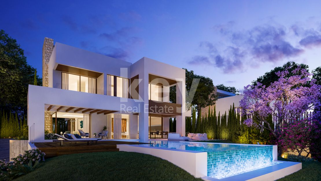Contemporary villa close to the beach in Golden Mile, Marbella