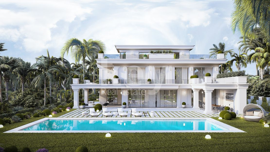 Sea views luxury villa for sale in Lomas de Marbella Club, Golden Mile
