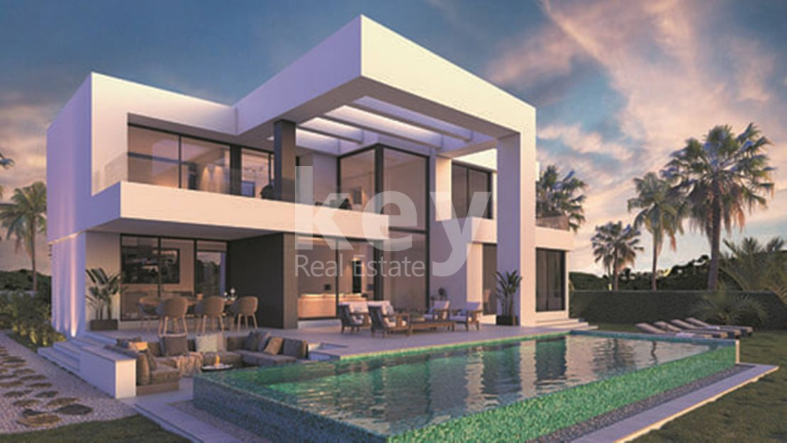 New builty villa in El Limonar