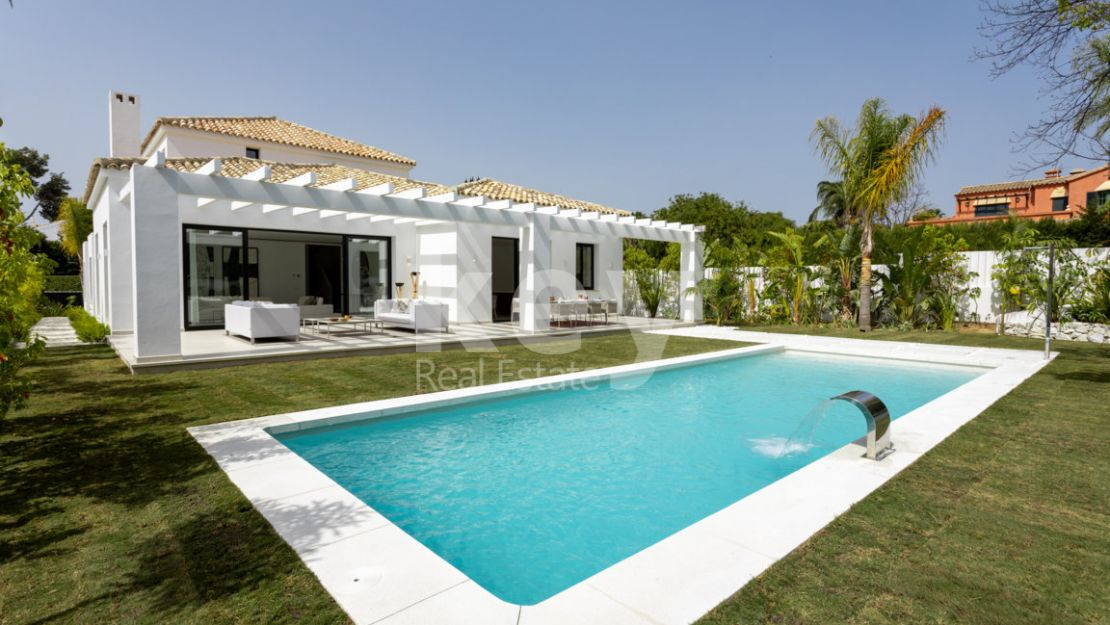 Brand new luxury villa in Guadalmina Baja