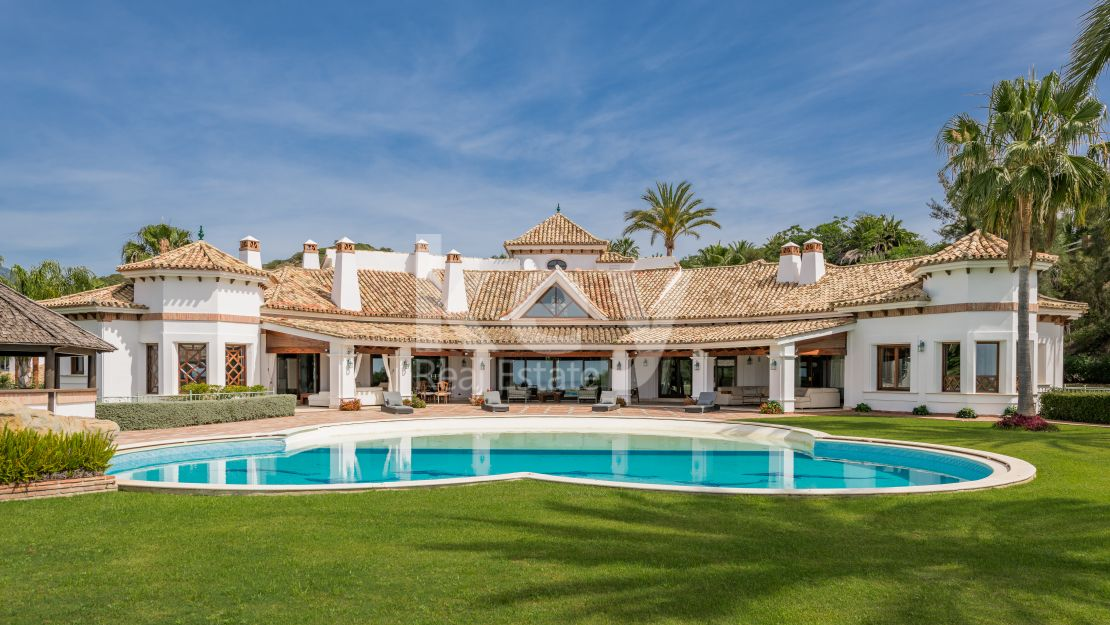 Outstanding sea views mansion in Vega del Colorado, Benahavis
