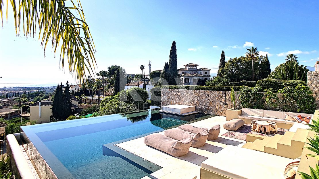 Fabulous sea views villa in Paraiso Alto, Benahavis