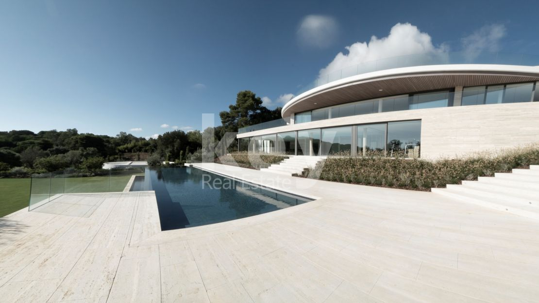 Luxury sea views mansion for sale in La Reserva de Sotogrande