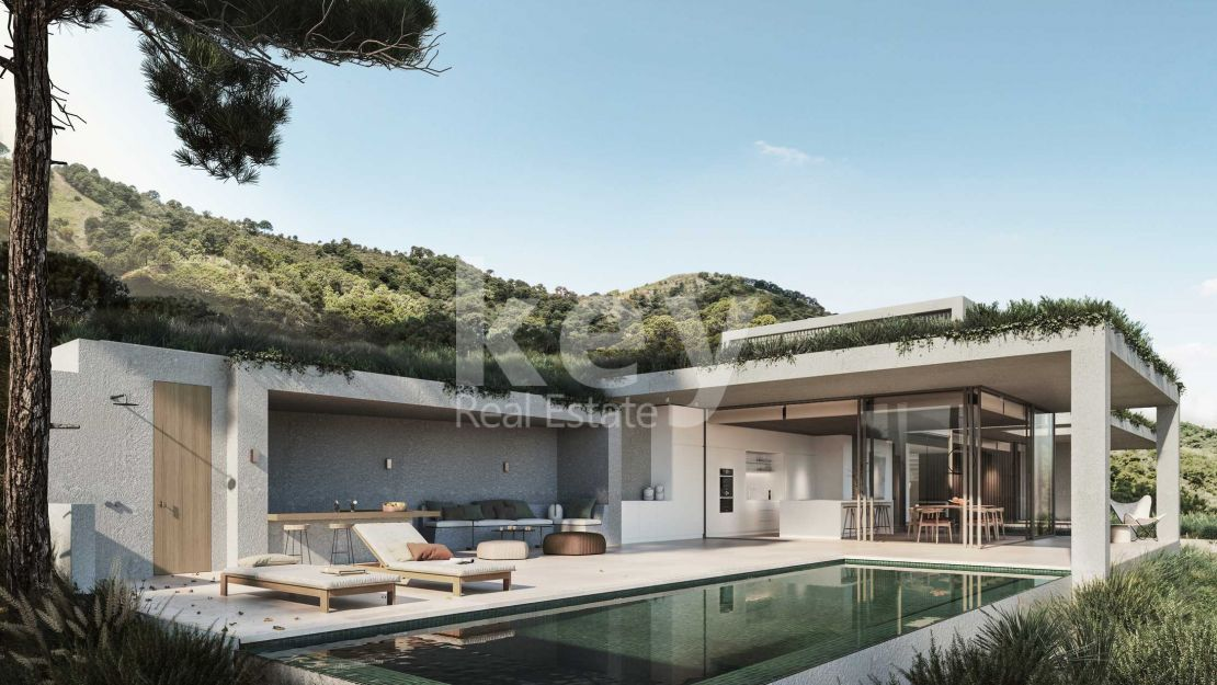 Sea views modern villa in Monte Mayor Club, Benahavis
