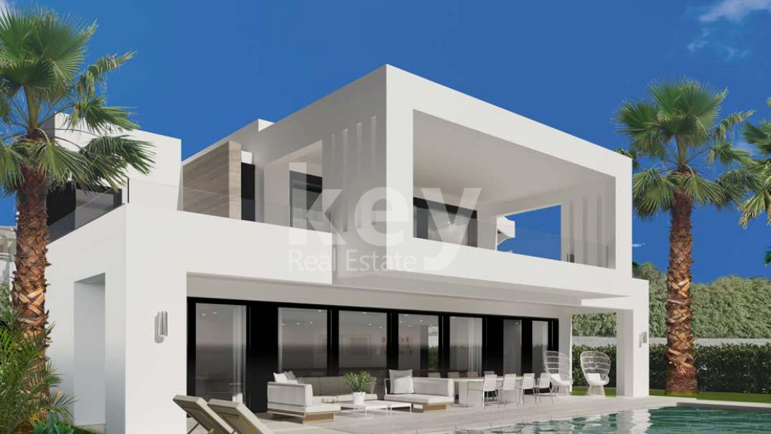 Stunning and brand new villa in El Paraiso, Estepona