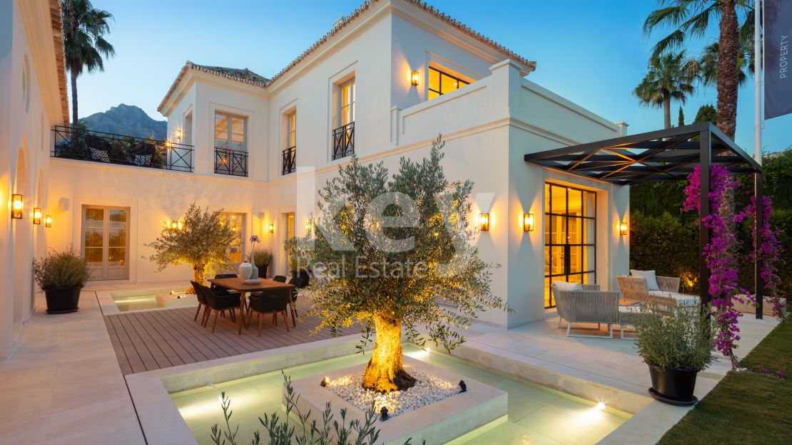 Marvelous new villa in Nagueles, Golden Mile (Marbella)