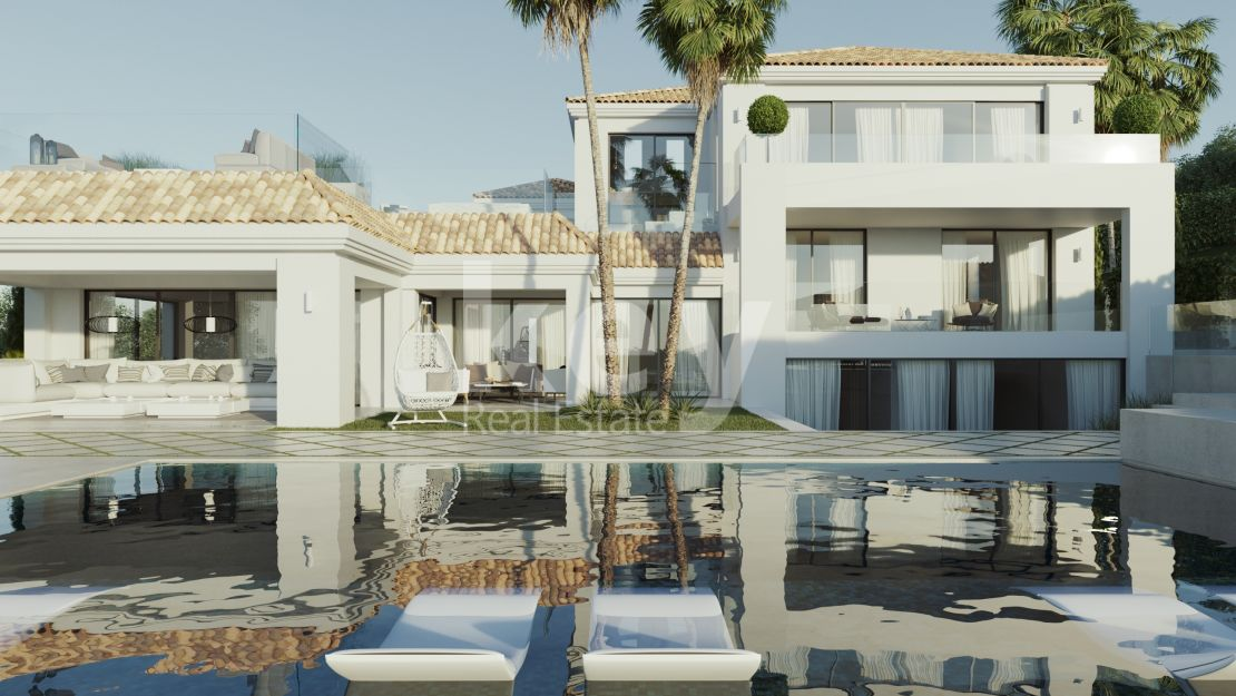 Incredible modern villa in Los Naranjos Golf, Marbella