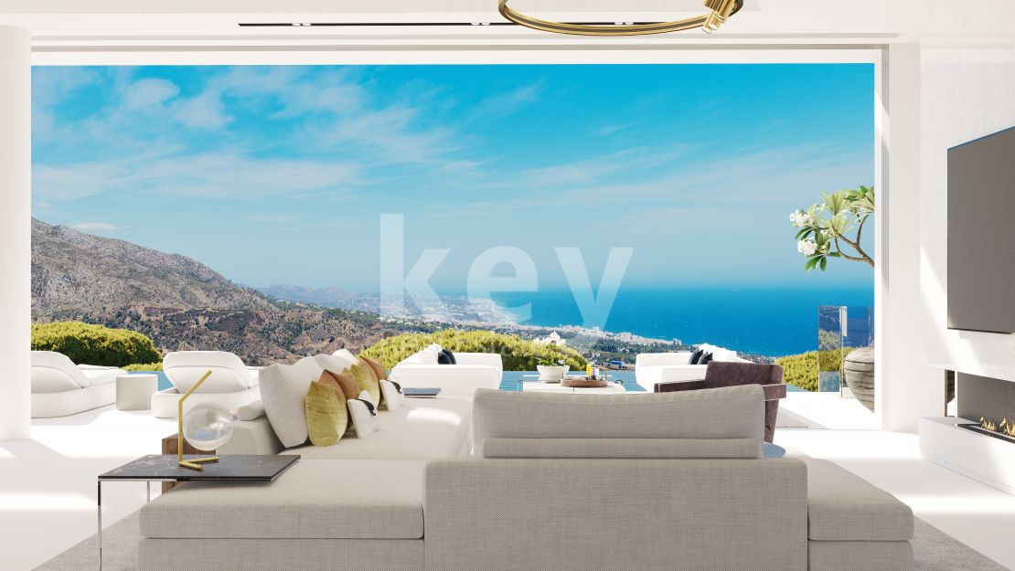 Panoramic sea views villa for sale in Real de La Quinta, Benahavis